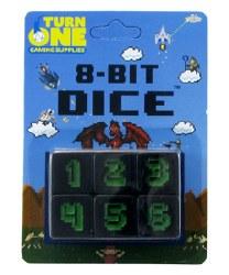 8 Bit Dice Set