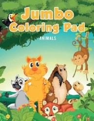 Animals Jumbo Coloring Pad