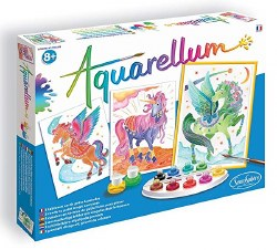 Aquarellum: Large Unicorns & Pegasus