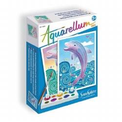 Aquarellum: Mini Dolphins