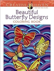 Beautiful Butterfly Designs Coloring Book