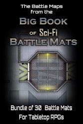 Big Book of Sci-Fi Battle Maps