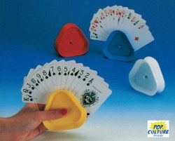 Card Holder: Set of 4 Plastic Holders