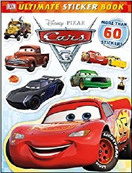Cars 3 Disney Pixar Sticker Book