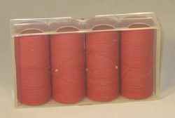 Clay Casino Chips: 100 Red