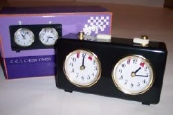 Analong Wind-Up Chess Clock