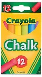 Crayola Chalk: 12