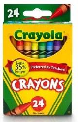 Crayola Crayons: 24