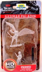 D&D HD Minis: Aasimar Paladin (Female)