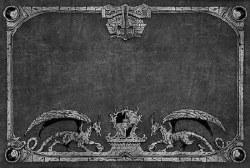 Dragon Shield Playmat - Grey Dragon Guardians