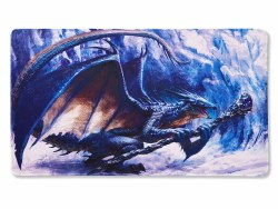 Dragon Shield Playmat w/ Life Counter - Sapphire Dragon