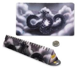Dragon Shield Playmat w/Life Counter - Silver
