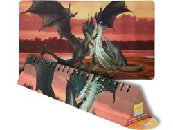 Dragon Shield Playmat w/Life Counter - Valentines Dragons
