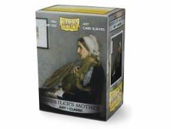 Dragon Shield: 100 Art Sleeves - Whistler's Mother