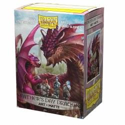 Dragon Shield: 100 Art Matte Father's Day Dragon Sleeves