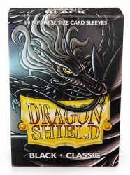 Dragon Shield Sleeves: 60 Small Classic Black