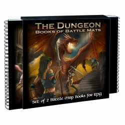Dungeon Books of Battle Maps