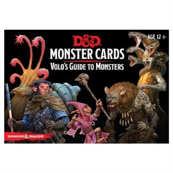 Dungeons & Dragons Monster Cards: Volo's Guide to Monsters