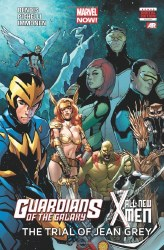 Guardians of the Galexy and The All New X-Men: The Trial of Jean Grey