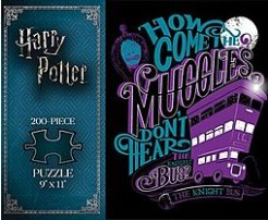 Harry Potter: The Knight Bus 200-Piece Puzzle