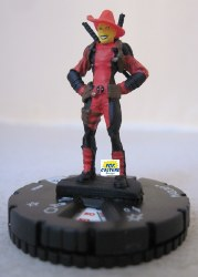 Heroclix Deadpool & X-Force 004a Madcap