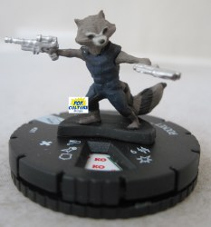 Heroclix Guardians of the Galaxy v.2 001 Rocket Racoon