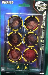 Heroclix Star Trek Away Team Original Series Dice and Token Set