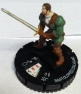 Heroclix Assassin's Creed: Brotherhood 004 Bartolomeo d'Alviano