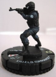 Heroclix Avengers Movie 010 S.H.I.E.L.D. Commando