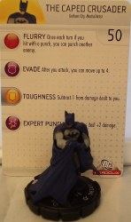 Heroclix Batman Alpha 002 Batman (The Caped Crusader)