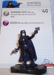 Heroclix Batman Alpha 011 Huntress
