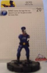 Heroclix Batman Alpha 015 GCPD