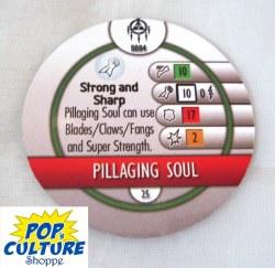 Heroclix Yu-Gi-Oh!: BotM B004 Pillaging Soul