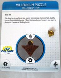 Heroclix Yu-Gi-Oh!: BotM S100 Millennium Puzzle