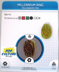 Heroclix Yu-Gi-Oh!: BotM S102 Millennium Ring