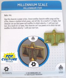 Heroclix Yu-Gi-Oh!: BotM S103 Millennium Scale