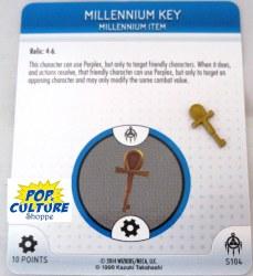 Heroclix Yu-Gi-Oh!: BotM S104 Millennium Key