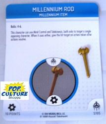 Heroclix Yu-Gi-Oh!: BotM S105 Millennium Rod