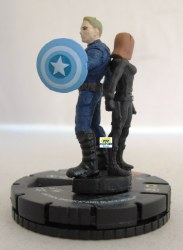 Heroclix Captain America Winter Soldier 017 Captain America and Black Widow