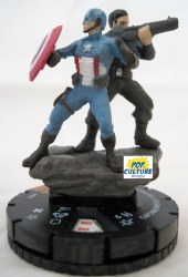 Heroclix Captain America Winter Soldier 018 Captain America and Bucky Chase