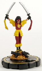 Heroclix Collateral Damage 019 Katana