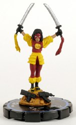 Heroclix Collateral Damage 020 Katana