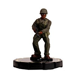 Heroclix Cosmic Justice 001 Easy Company Soldier