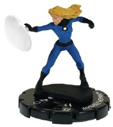 Heroclix Marvel Classic 1-08 Invisible Woman