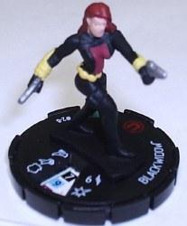 Heroclix Marvel Classic 2-08 Black Widow