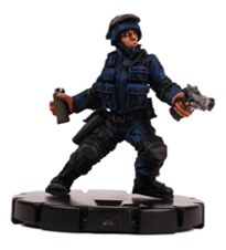 Heroclix Critical Mass 010 SWAT Heavy Weapons