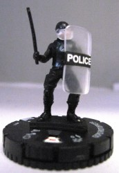 Heroclix Dark Knight Rises 011 GCPD Riot Officer