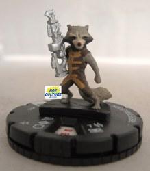 Heroclix Guardians of the Galaxy (Movie) 005 Rocket Raccoon