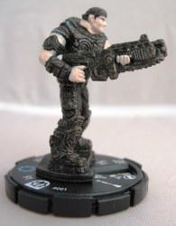 Heroclix Gears of War 001 Marcus Fenix