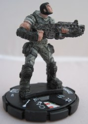 Heroclix Gears of War 002 Dominic Santiago